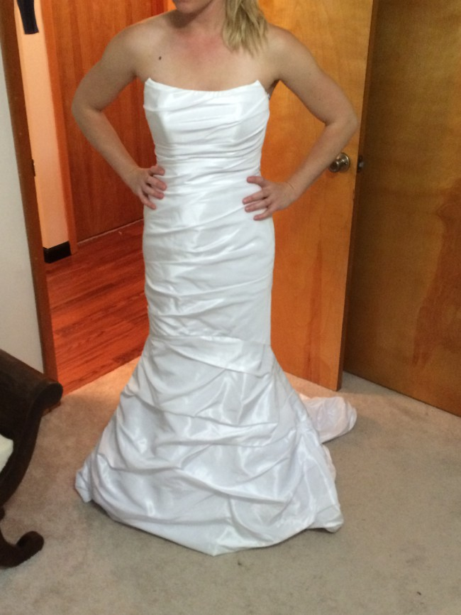 David's Bridal P9345