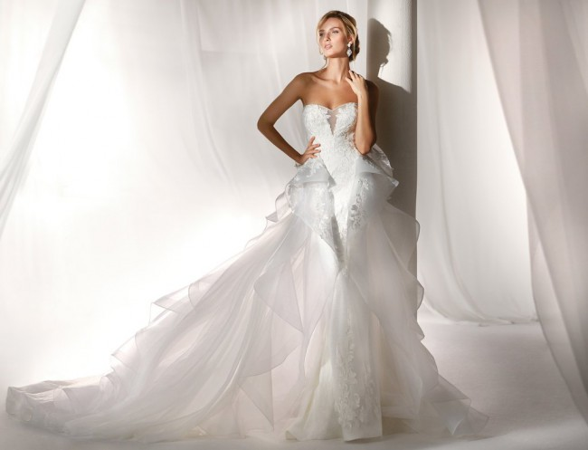Nicole Spose NIAB19064 Overskirt Only