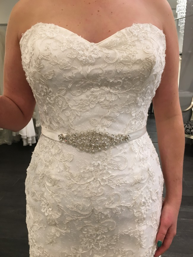 Maggie Sottero, Marigold - Ivory/Pewter Accent