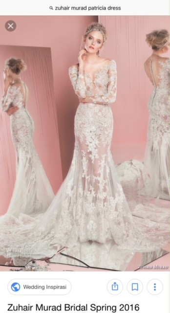 38120ca0ad Zuhair Murad Patricia Dress Second Hand Wedding Dress on Sale - Stillwhite  South Africa
