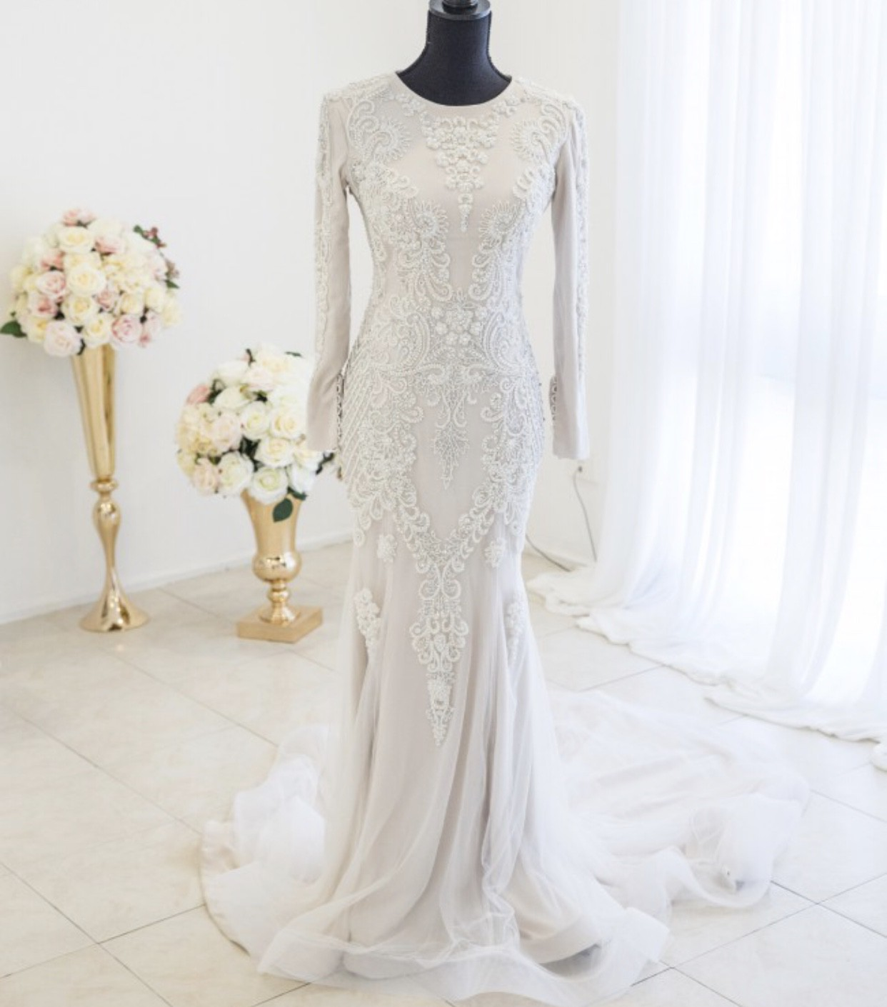 Second Hand Wedding Gown: Ikeu Couture Second Hand Wedding Dress On Sale 66% Off