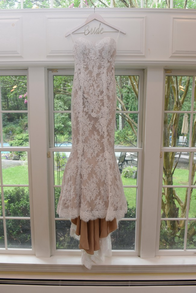 Marisa, Ivory/Cafe Lace/Stretch Charmeuse Style D60