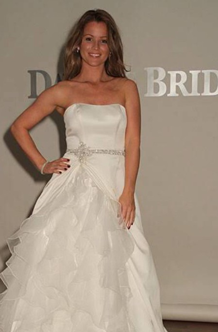 David's Bridal, Modern Ball Gown Wg3220