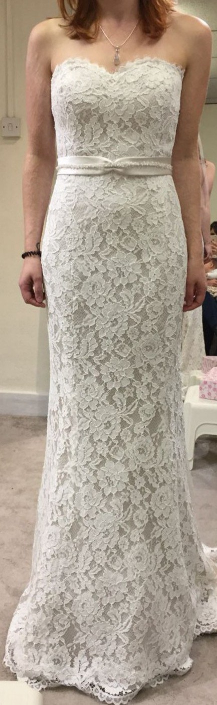 White Rose Bridal Genevieve