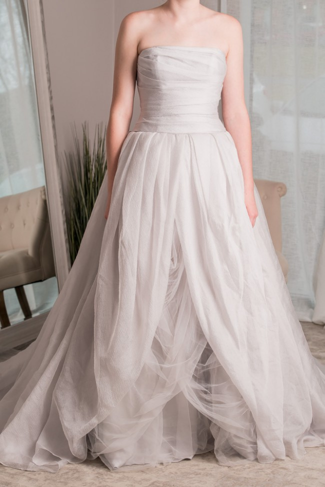 07cffc180dce9 Vera Wang VW351178 Sterling Second Hand Wedding Dress on Sale 40 ...