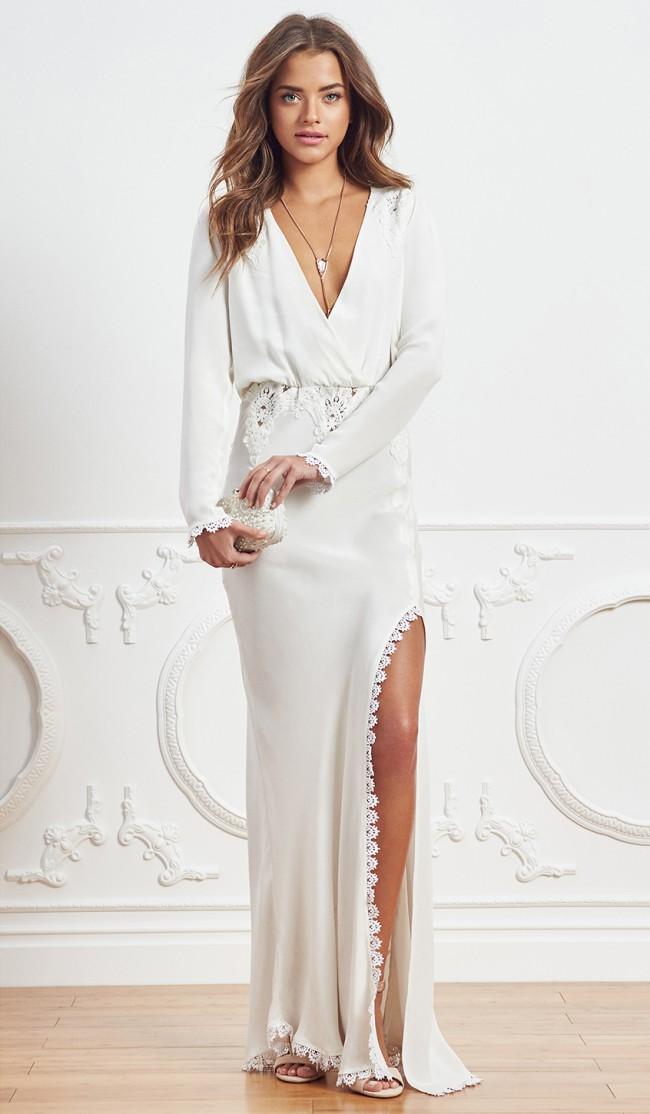 59b136a3270 Stone Cold Fox Bianka New Wedding Dress on Sale 50% Off - Stillwhite ...