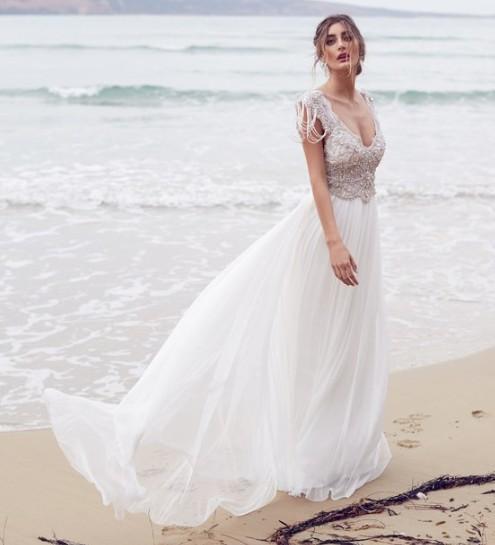 Anna Campbell Wedding Gowns: Medium Second Hand Wedding