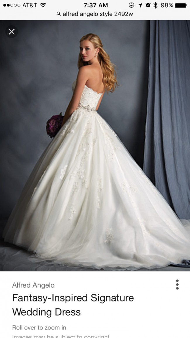 Alfred Angelo 2492W