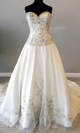 Allure Bridals, 8950 New w/ tags !fitted ball gown