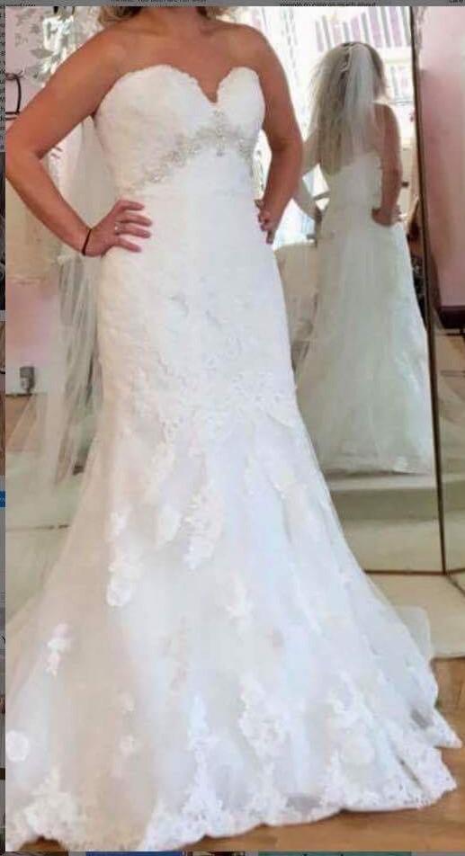 7c9494fed86 Stella York SY 6379 New Wedding Dress on Sale 47% Off - Stillwhite ...