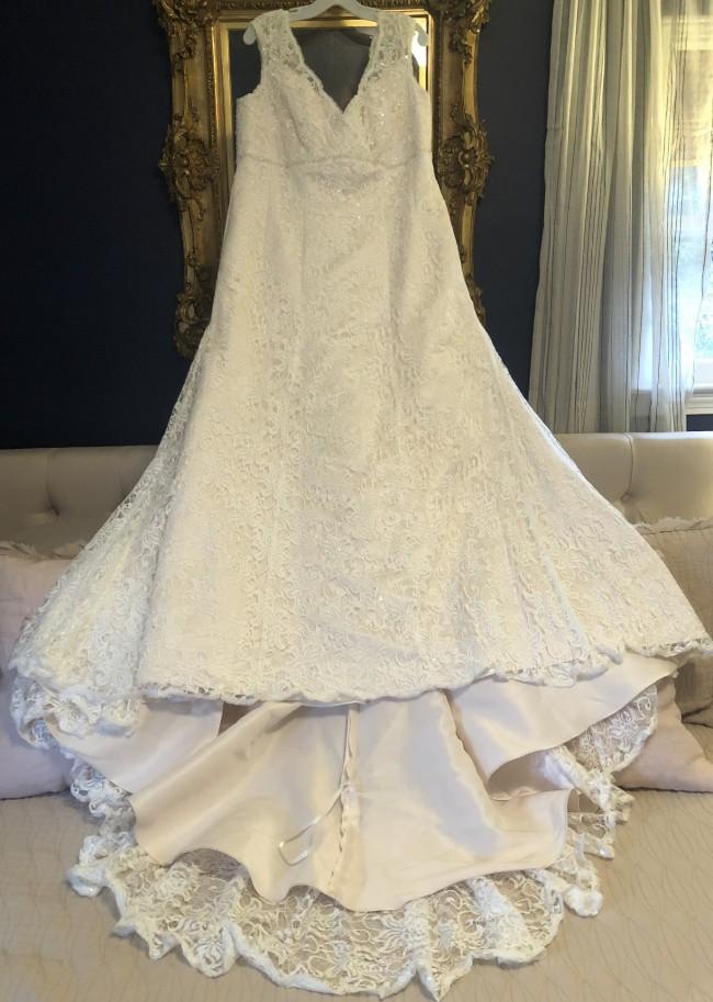 David's Bridal 9T9612IVYCHAMP