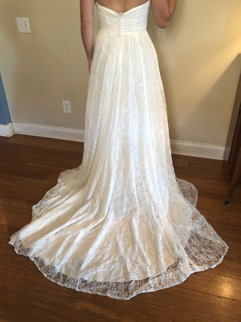 David S Bridal New Size 8