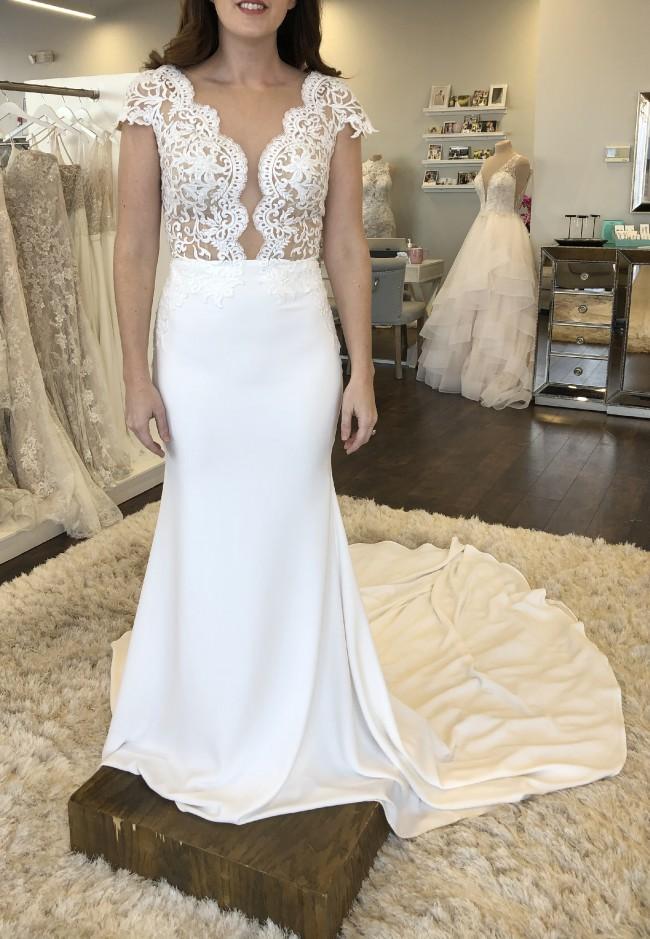 Calla Blanche L'amour Calla Blanche Style LA8103 Ivory Kyla Gown