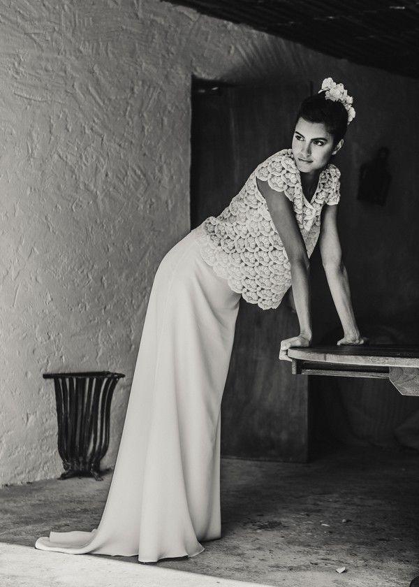 Laure de Sagazan Loden Skirt & Lynch Top