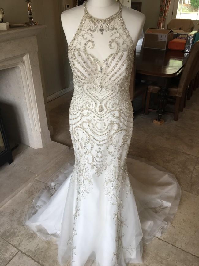 Demetrios Saffron Gown