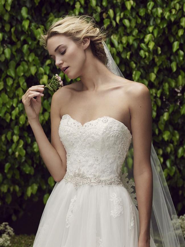 Casablanca Bridal Style 2229cherry blossom
