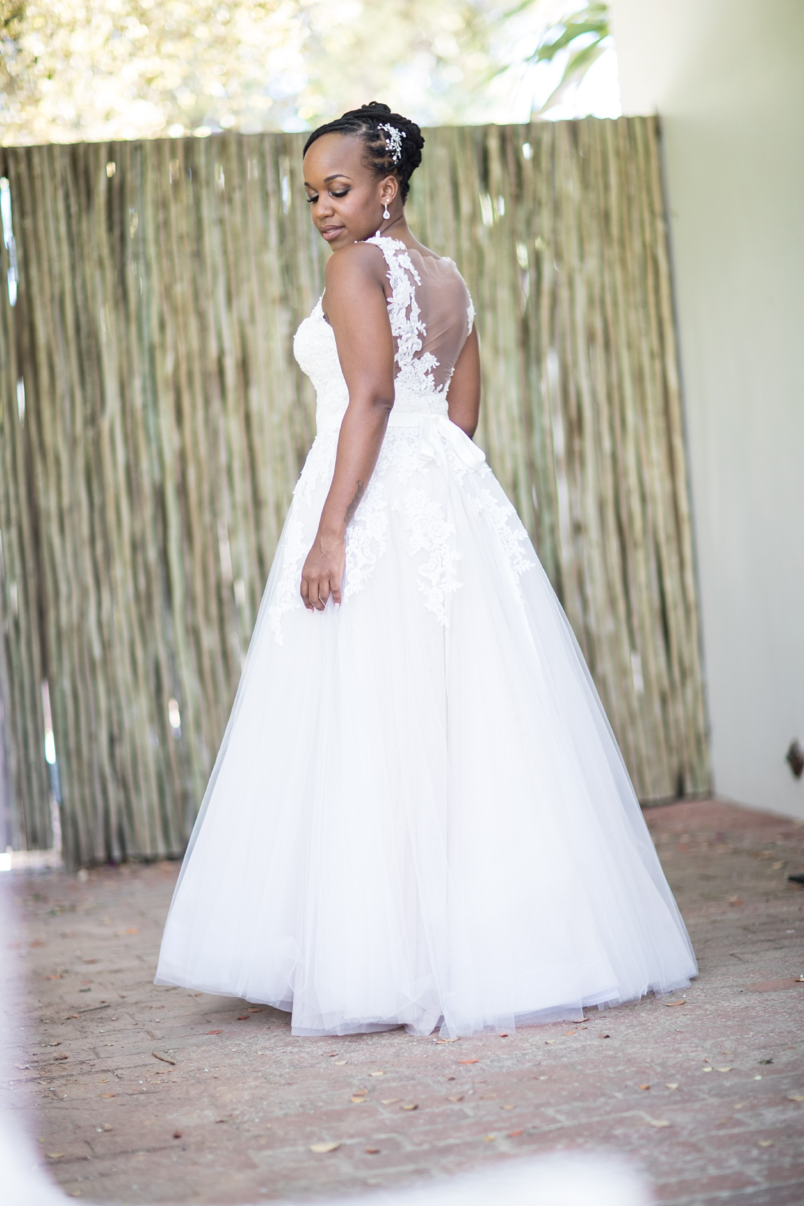 94628d41de6 Anel Botha Custom Made Second Hand Wedding Dress on Sale 65% Off -  Stillwhite South Africa