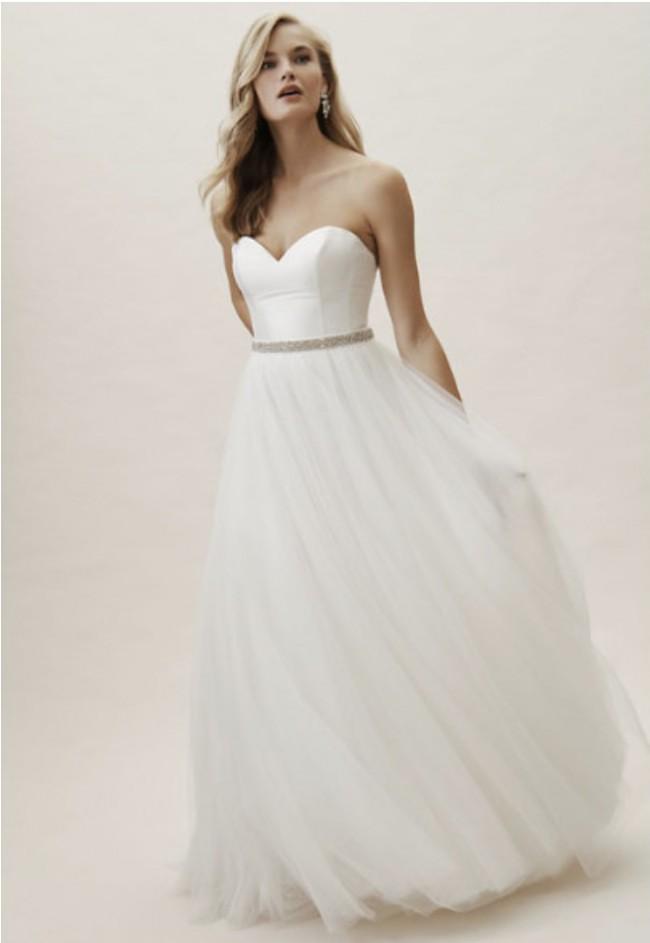 Jenny Yoo Colette Top/Clarke Skirt from BHLDN