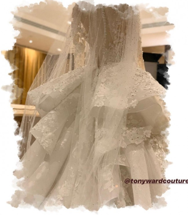 Tony Ward Custom Made