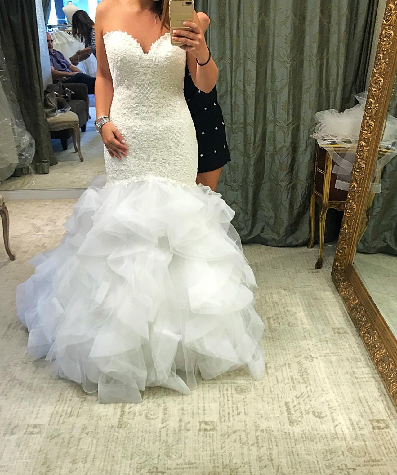 Essense Of Australia D2258 New Wedding Dress Save 59