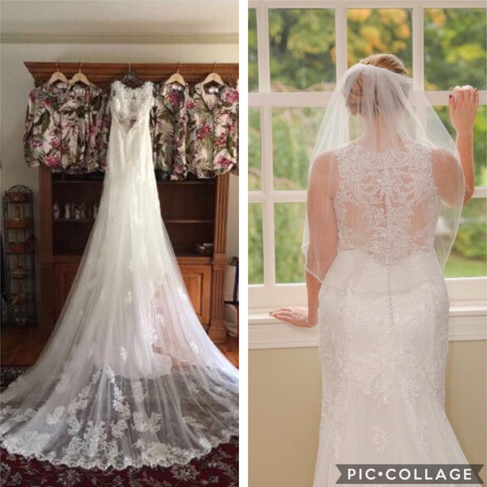 Essense Of Australia D2174 Preloved Wedding Dress Save 64