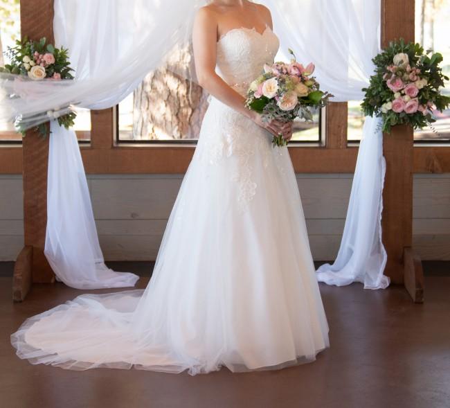 David's Bridal OP1338