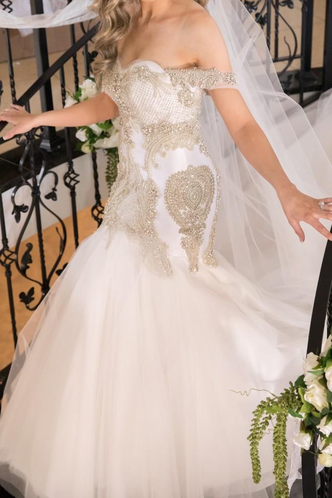 Joseph Sayadi Couture gown