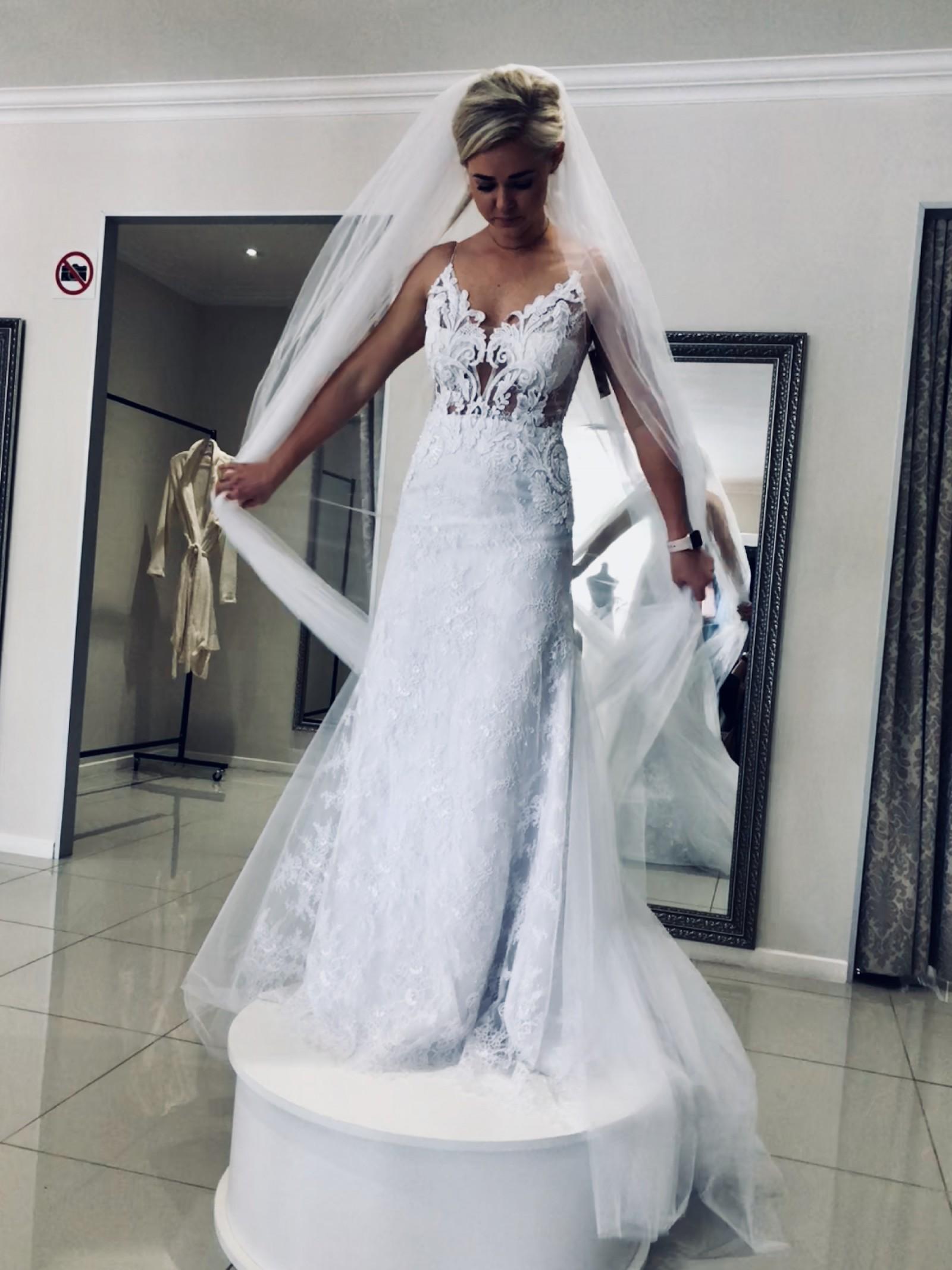 Cindy Bam New Wedding Dress On Sale 22 Off Stillwhite