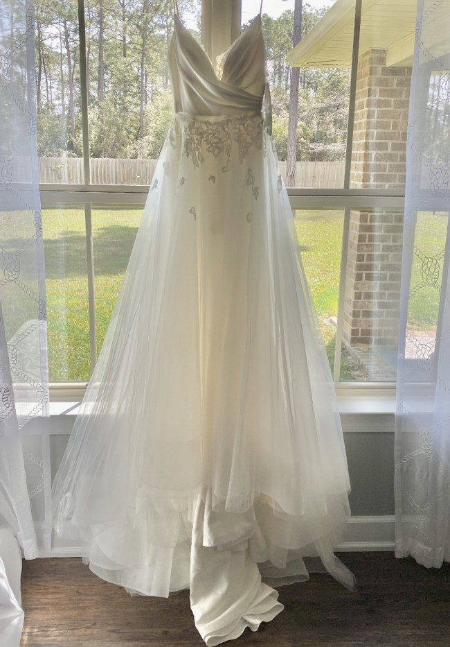 Hayley Paige Fawn with Overskirt