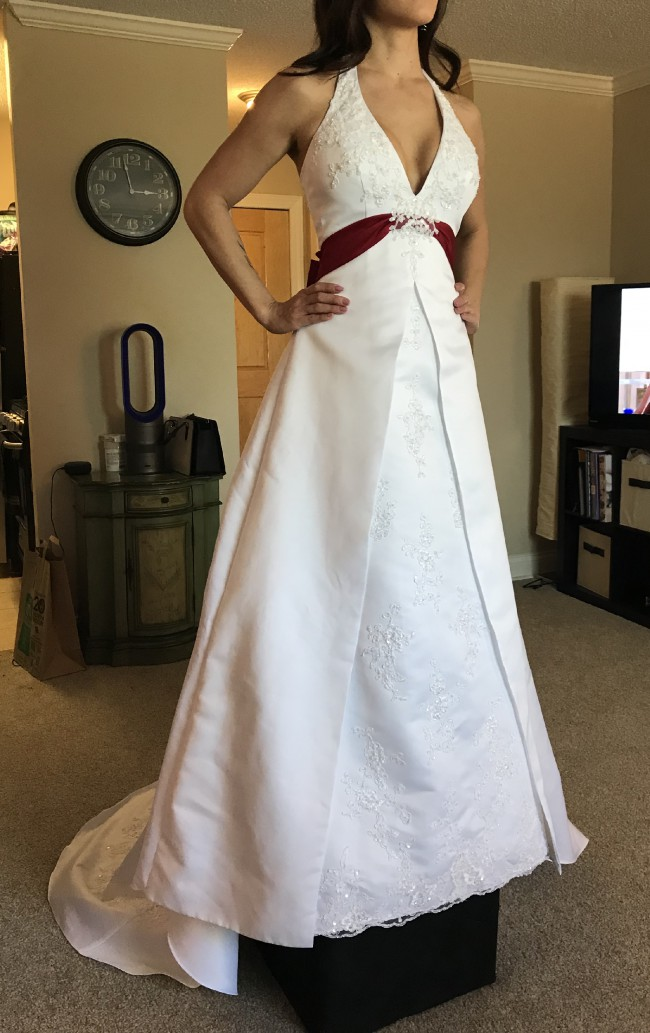David's Bridal T9218