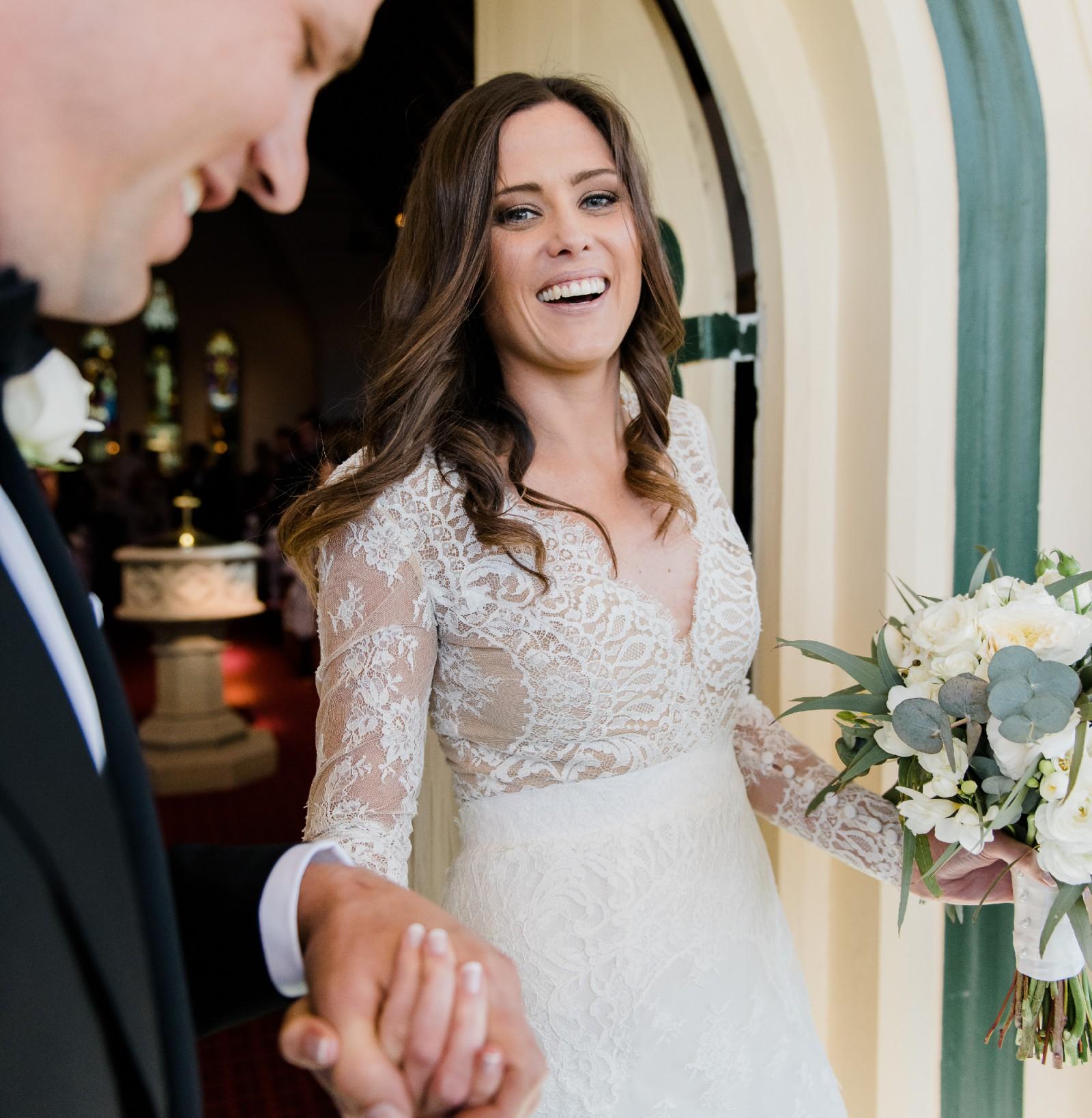 Carolina Herrera Claudette Preloved Wedding Dress - Stillwhite
