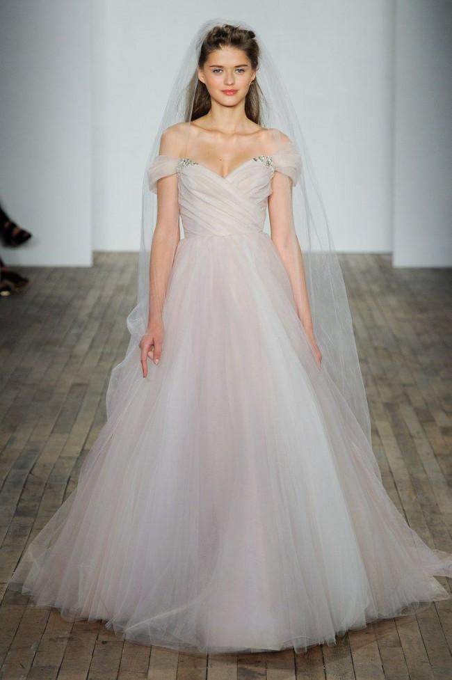 416afd849 Hayley Paige Milo New Wedding Dress on Sale 58% Off - Stillwhite ...