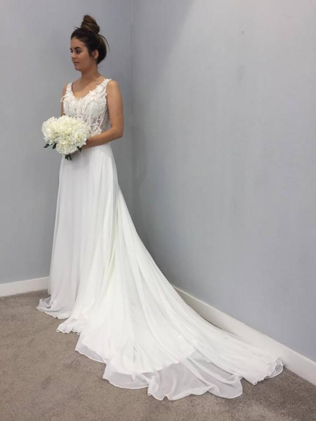 600bce8895 Tania Olsen New Wedding Dress On Sale 30 Off Stillwhite Australia