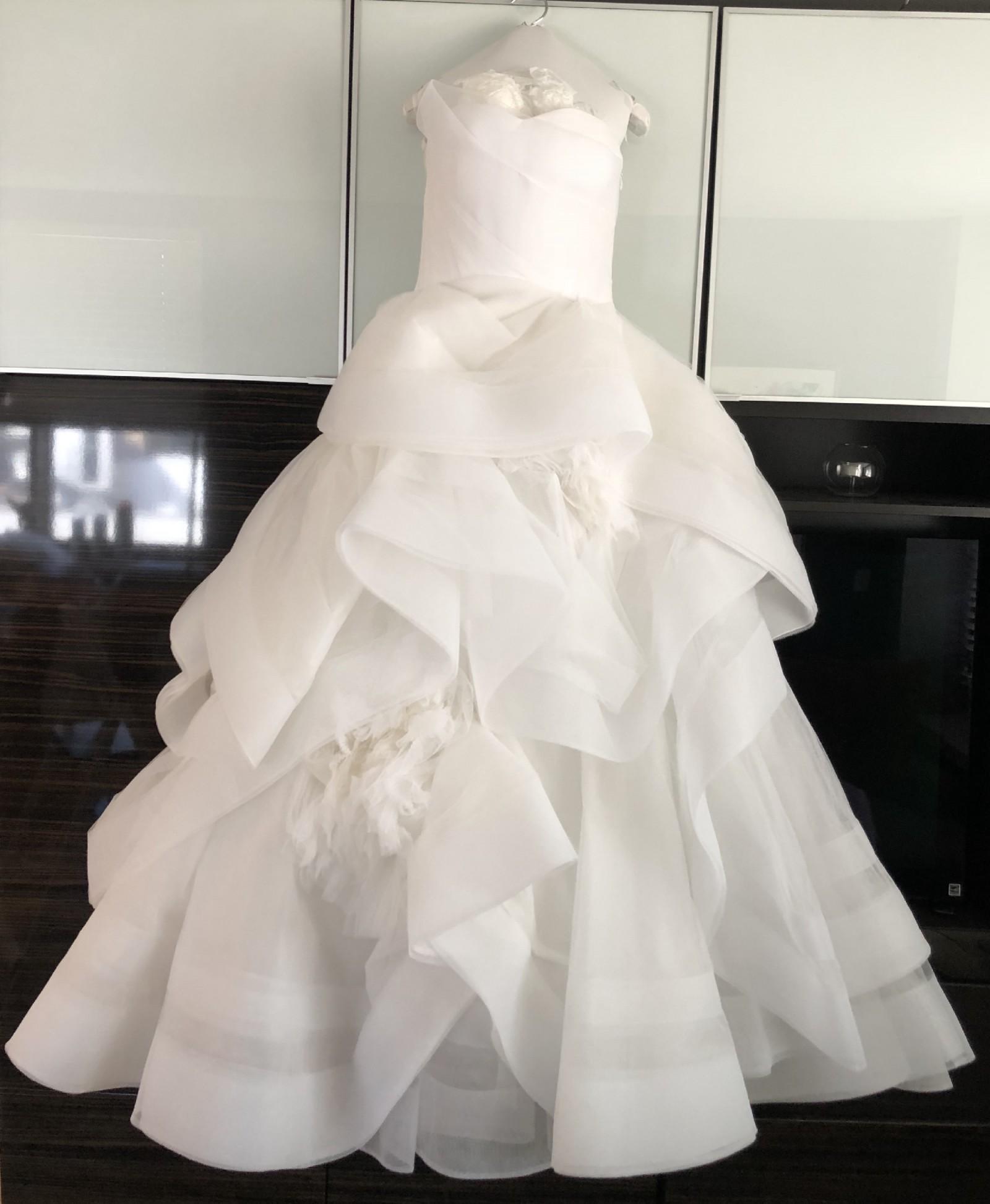 Wedding Hairstyle Price List: Vera Wang Katherine (Style # 111313) New Wedding Dress On