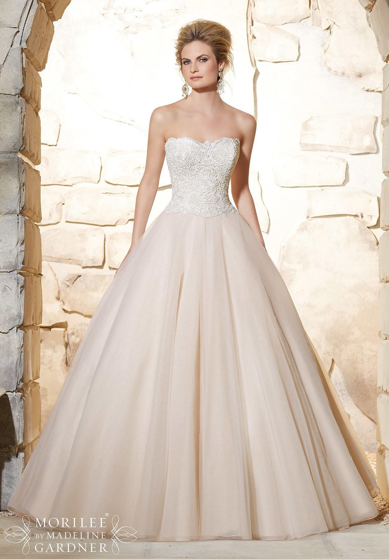 c6d527f7c573 Morilee Gwyneth New Wedding Dress on Sale 13% Off - Stillwhite ...