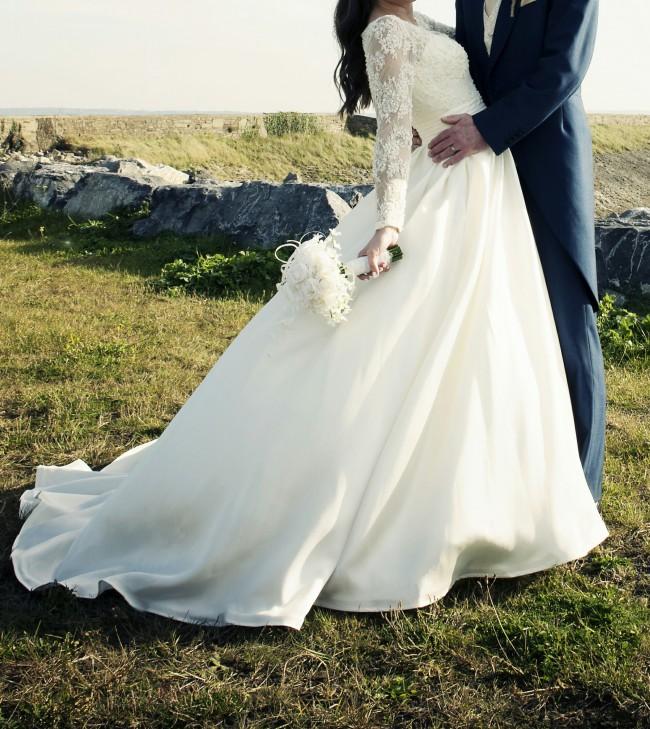 Diane Harbridge Lavender Second Hand Wedding Dress On Sale 71 Off