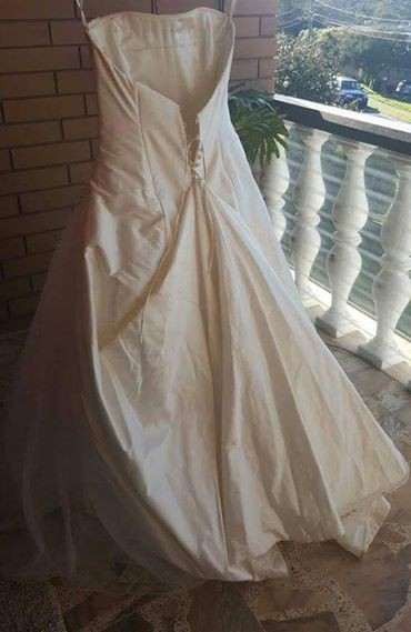 d1c7ac1ec46648 Dimitra s Bridal Couture Custom Made Preloved Wedding Dress on Sale 82% Off  - Stillwhite South Africa