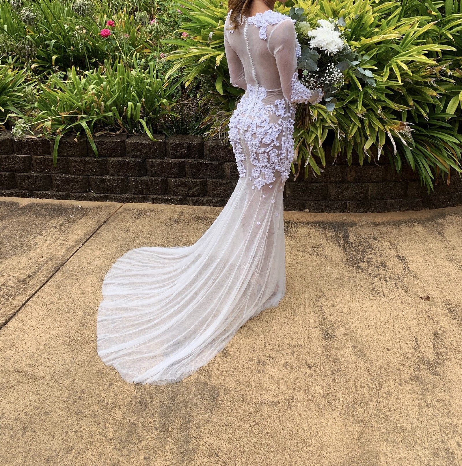Elly Sofocli Custom Made Second Hand Wedding Dress On Sale