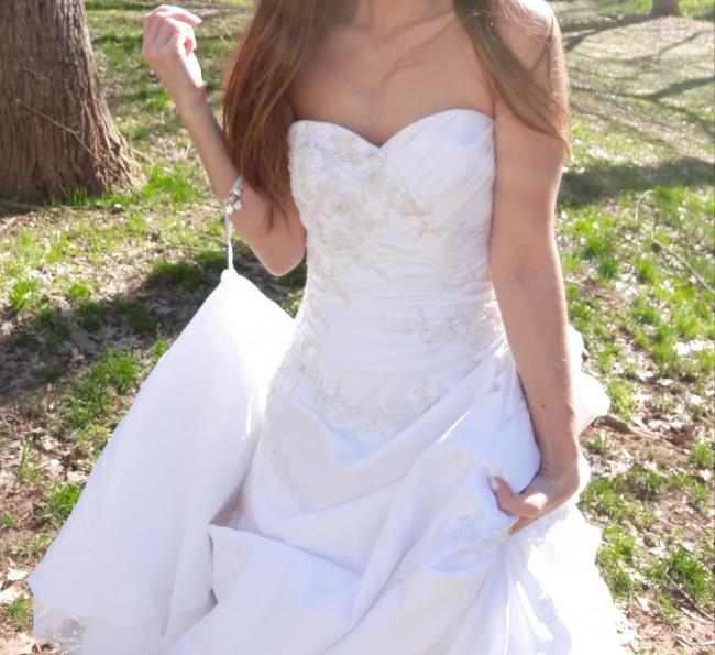 David's Bridal T9669