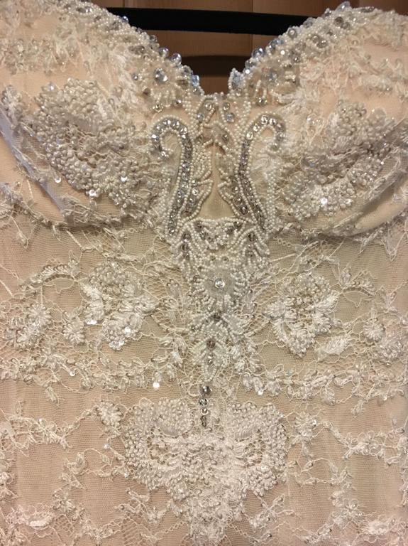 Galia Lahav Crystal Gown