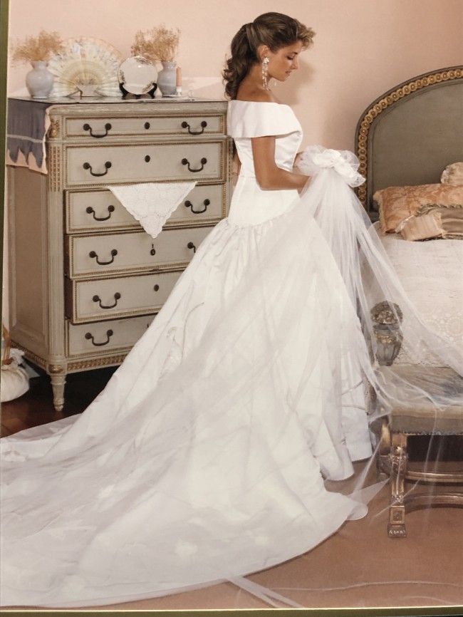 Arnold Scaasi Custom Made Used Wedding Dress On Sale 65 Off
