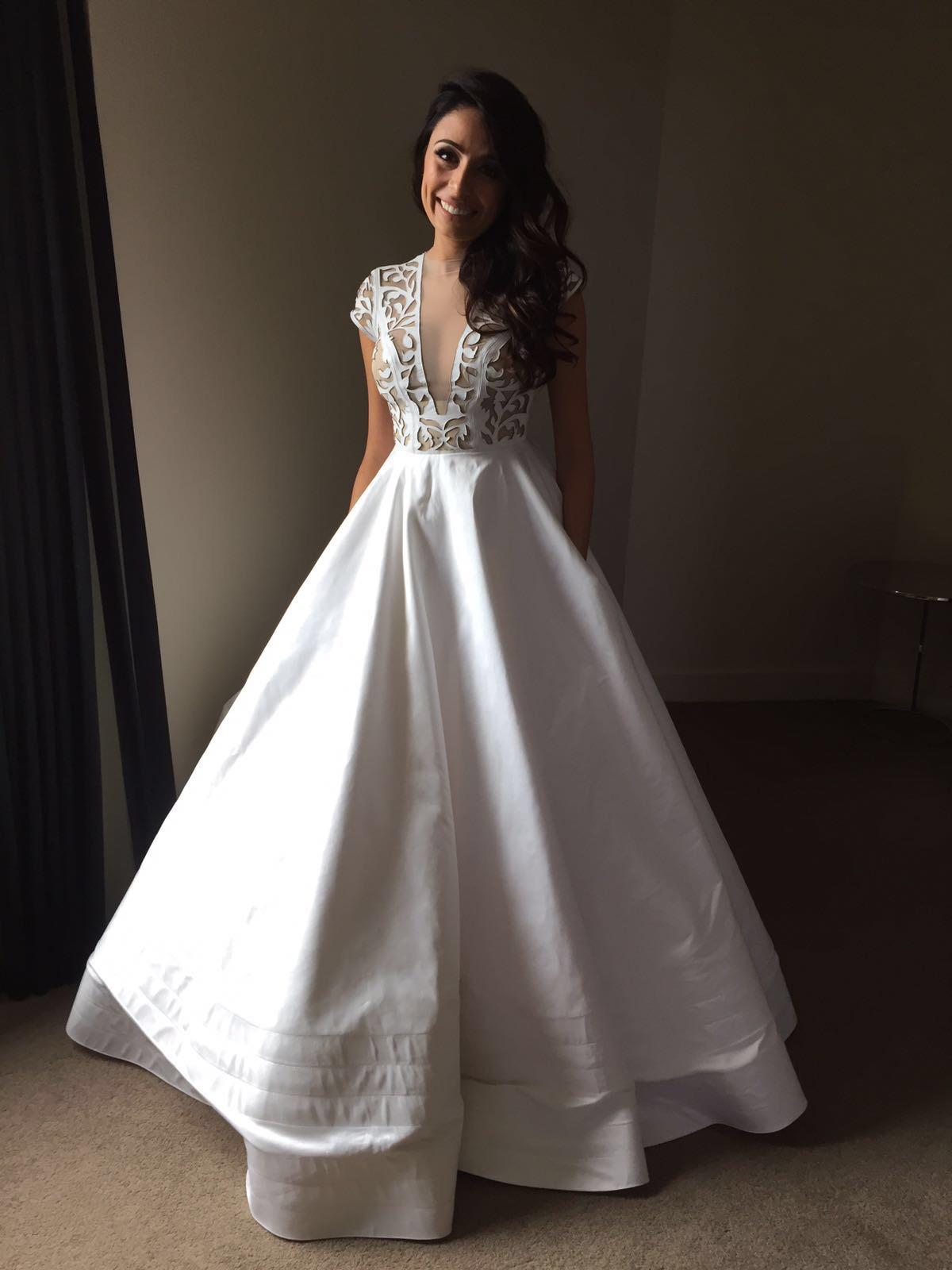 Alex Perry Custom Made Second Hand Wedding Dress On Sale