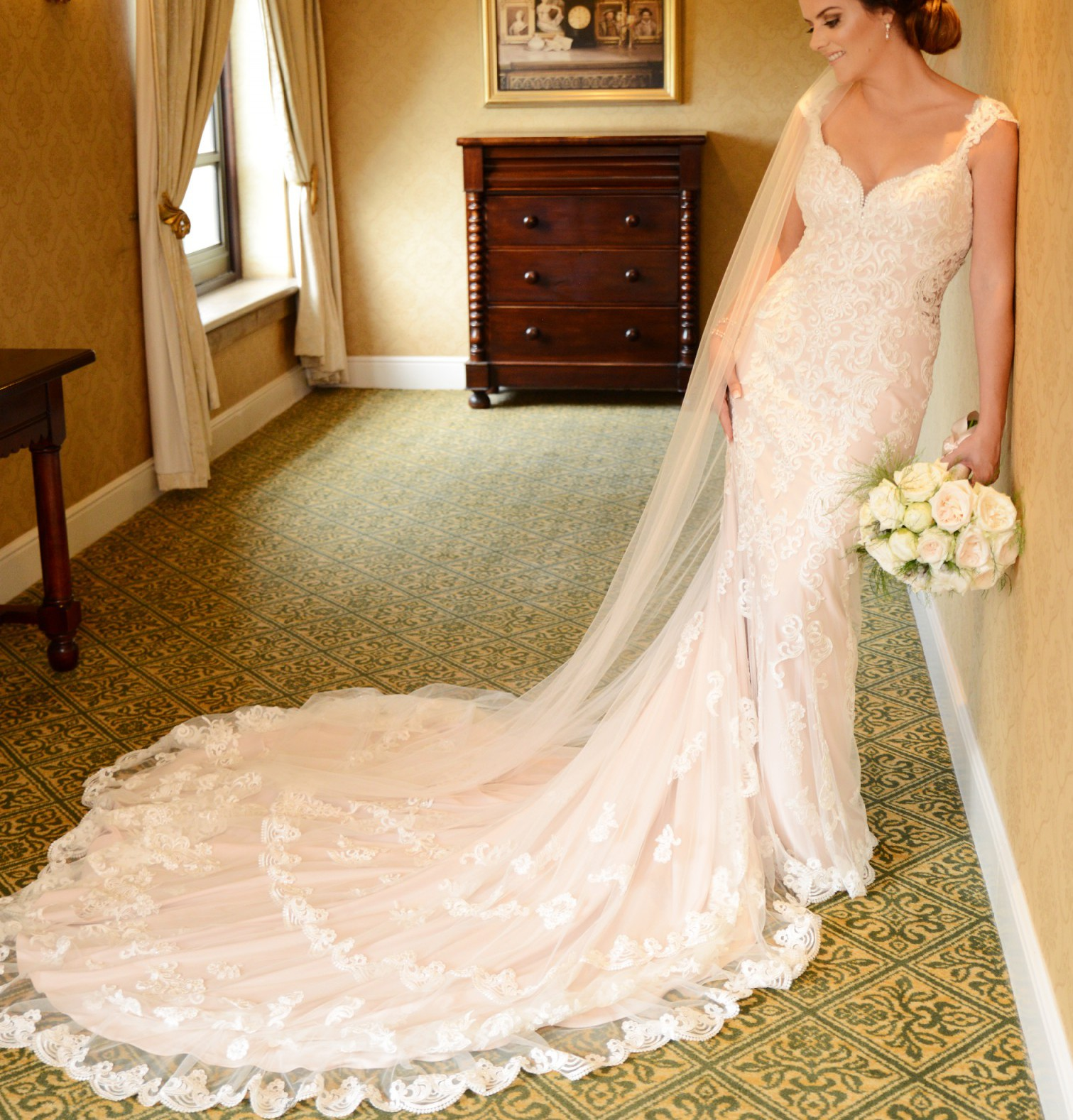Essense Of Australia D2205 Used Wedding Dress Save 40