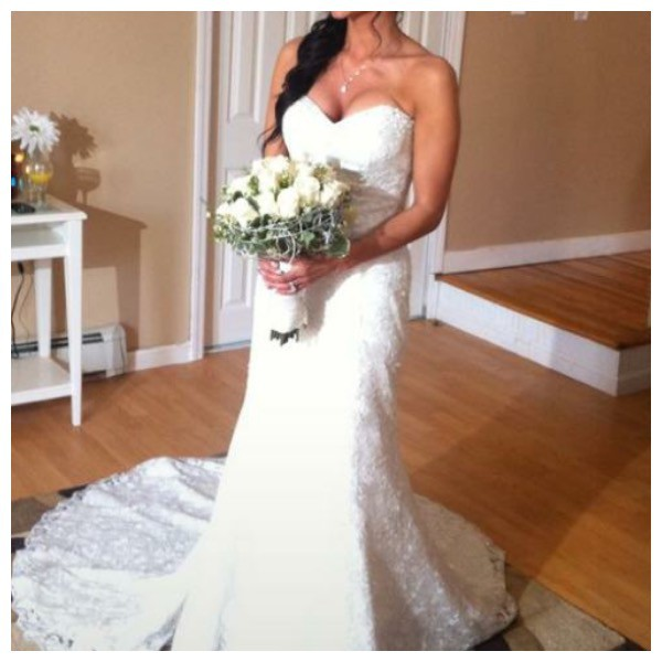 James Clifford Wedding Gowns: James Clifford Custom Made New Wedding Dress On Sale 83