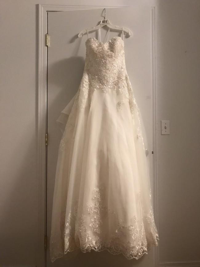 88b283fcd61f David's Bridal Jewel New Wedding Dress on Sale 27% Off - Stillwhite ...