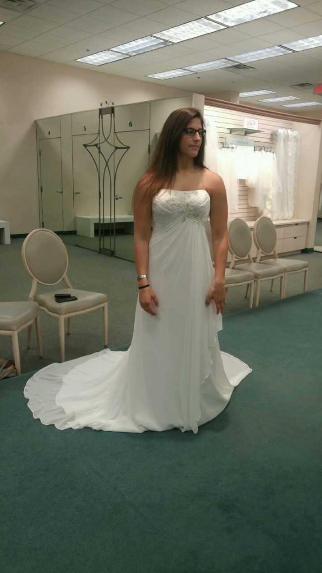 David's Bridal WG3872