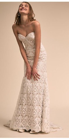 BHLDN Whispers & Echoes Lilac Gown Style #45168036