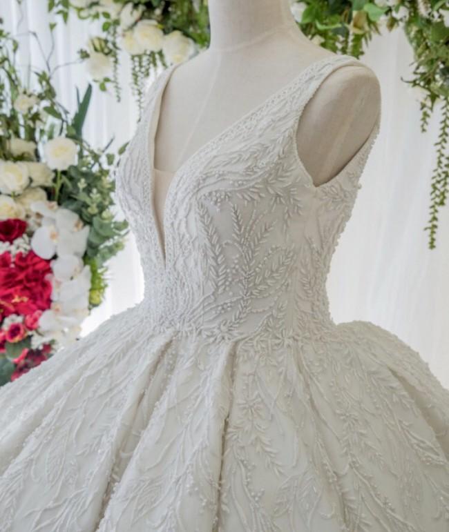 Custom Gown Custom Made