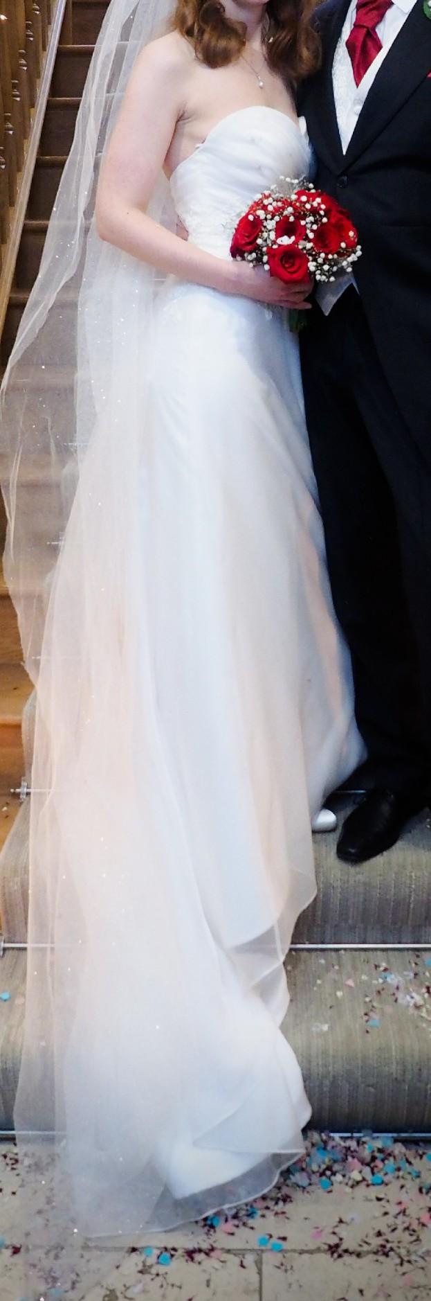 White Rose Bridal Custom Made