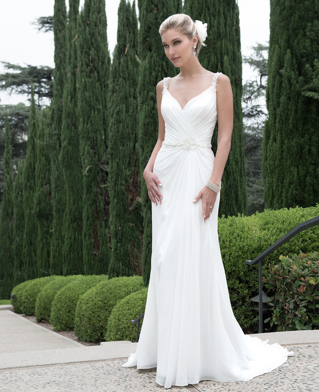 Venus Bridal PA9218 Preowned Wedding Dress On Sale